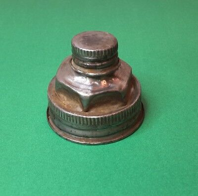 "Vintage Double Spout Gas Can Cap fits 1 3/4"" Spout"