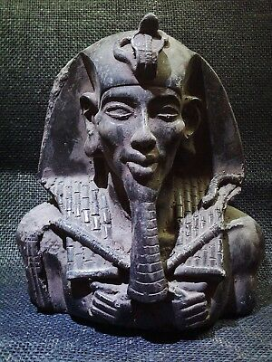 ANCIENT EGYPTIAN ANTIQUE King Akhenaten Ikhnaton Akhenaton Statue 2700–2185 BCE