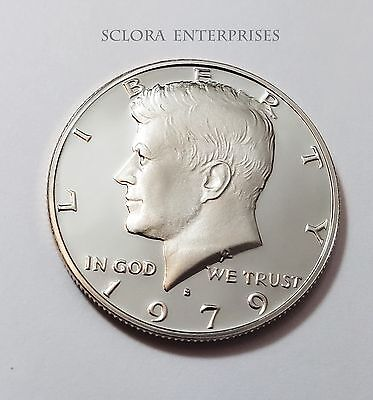 1979 S Kennedy *proof* Half Dollar  *type 1*  **free Shipping**