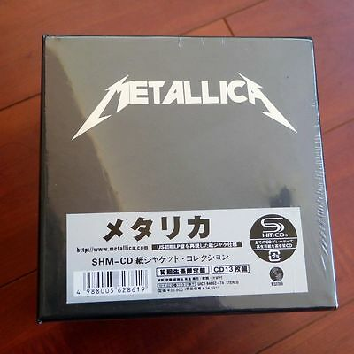 Metallica: The Album Collection 13 Discs CD Mini-LP Japan Box Set New Sealed