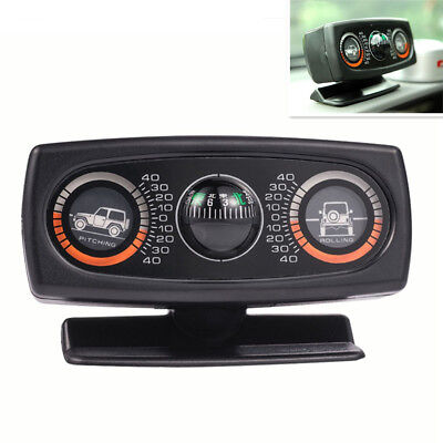 Multifunction Car Truck SUV Compass Auto Inclinometer Slope Measure Incline Tool