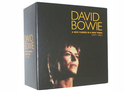 David Bowie:A New Career In A New Town (1977-1982) 11 CD Box Set