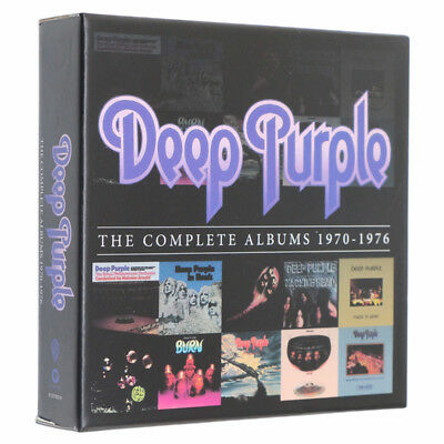 """Deep Purple """"The Complete Albums 1970-1976"""" 10 CD Box Set  Limited Edition"""
