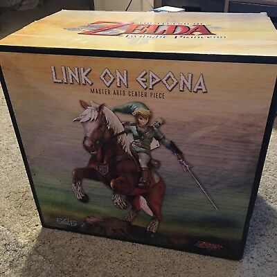 Legend of Zelda Link on Epona Statue Twilight Princess First4Figures F4F Ltd Ed