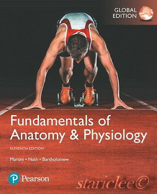 Fundamentals of anatomy and physiology 11th global edition 8460 new 3 days to us fundamentals of anatomy and physiology 11e martini 11th edition fandeluxe Images