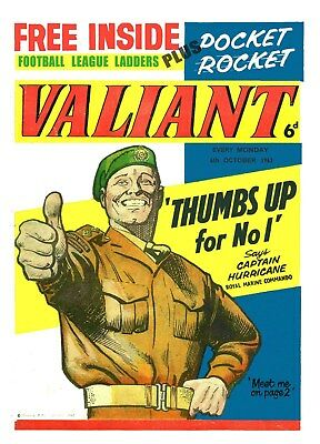 Valiant Collection Of 700+ Uk Adventure Comics On Dvd Including First Issue