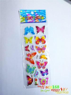 Xmas Stick 1pc Puffy Cartoon Stickers Scrapbooking Lot Craft Kid Party Toy Gifts