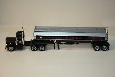 HO Scale 1:87 Texaco Prime Mover/Tractor and Tank Trailer No Box