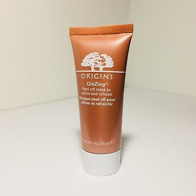 Origins GinZing Peel Off Mask to Refine and Refresh - 0.5oz/ 15ml - Travel Size