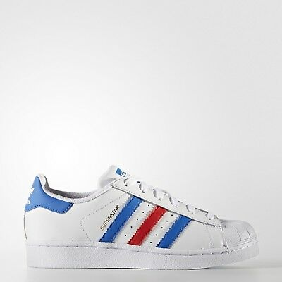 New adidas Originals Superstar Shoes BB0354 Kids' White Sneakers