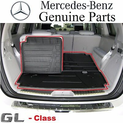 Mercedes-Benz X164 GL Class Genuine Foldable Cargo Liner Tray Mat NEW 2007-2012