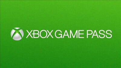 4 Mal Xbox Game Pass (1 Monat) / 4 x Xbox Game Pass (1 Month) Cards