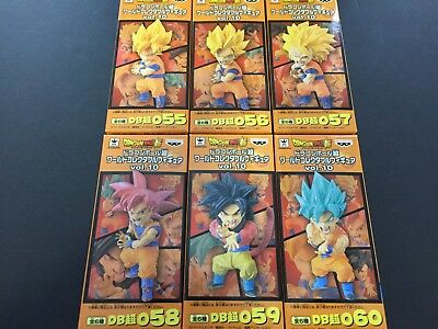 Dragon Ball Super World Collectable Figure WCF ANIME Vol.10 10 Set ALL 6 Japan