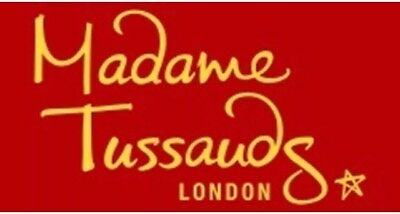 2 Tickets to Madame Tussauds London for 30th December 2017
