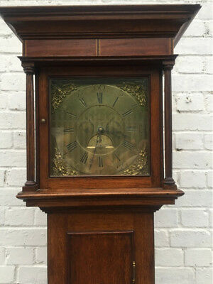 Antique Oak Longcase /Grandfather clock circa 1780