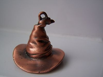 Harry Potter, Wizards Hat, Pendant, Bronze, Magic, Gothic, Witchcraft, Gift