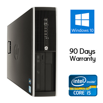 HP Compaq Elite 8300 i5-3570 3.4 GHz 4-16GB RAM 250GB-1TB HDD Windows 10 Pro