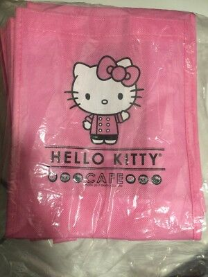 Hello Kitty Cafe 2017 Bag Lot Of 20 Gift bags party bags Christmas bags