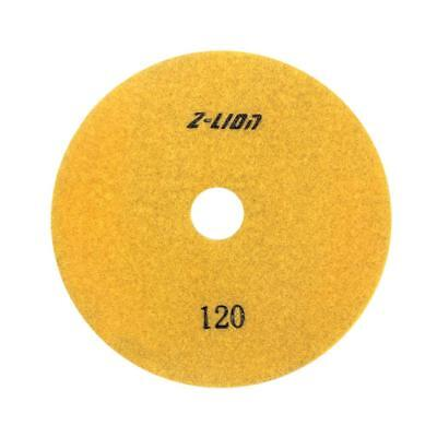 80mm Electroplated Diamond Dry Wet Polishing Pad /Buffing Pad 120 Grit