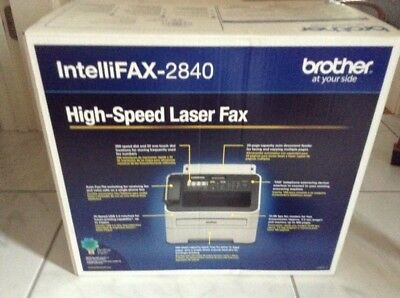 New Brother IntelliFAX-2840 High Speed Laser Fax