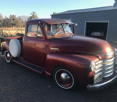 1952 Chevrolet Other Pickups  1952 Chevrolet Chevy 5 Window Pickup 1/2 Ton