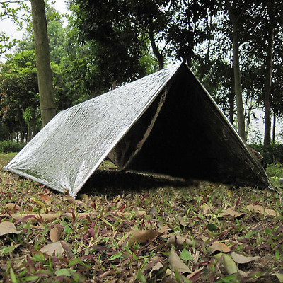Camping Equipment Emergency Cold-proof Waterproof Blanket Tent Survival Rescue