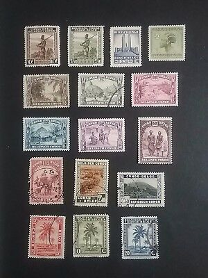 Belgium Congo stamps mint & used