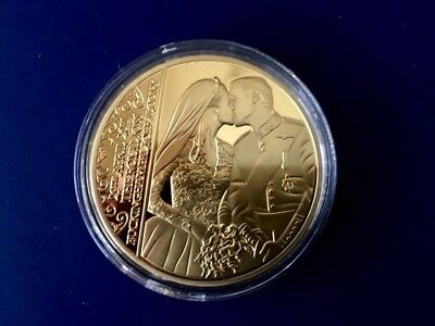 2011 Proof Commemorative Coin The Royal Kiss