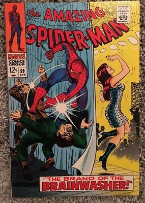 The Amazing Spider-Man #59 ... Writer: Stan Lee ... Silver Age Comic