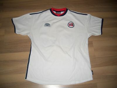 Norwegen Norge Norway Trikot Dress Shirt  Jersey L away 2000  UMBRO 20