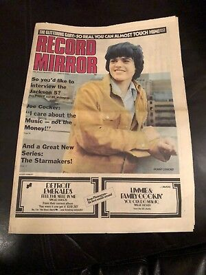 Record Mirror February 1973 Donny Osmond