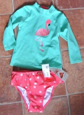 New Baby girls M&S Tankini Bikini 6-9 months last one