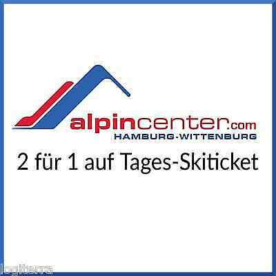 Alpincenter Gutschein Hamburg-Wittenburg 2 für 1 Tages-Skiticket