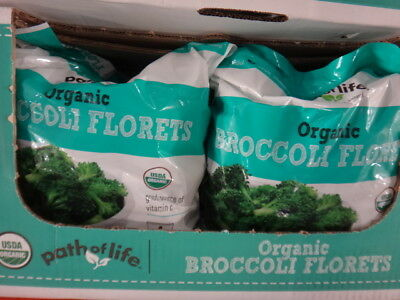NEW Path of Life Organic Broccoli Florets 1.8KG from Fairdinks