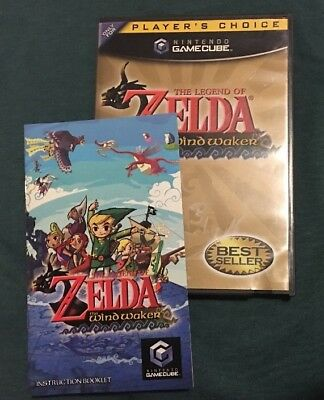 Legend of Zelda: The Wind Waker (Nintendo GameCube, 2003) CIB