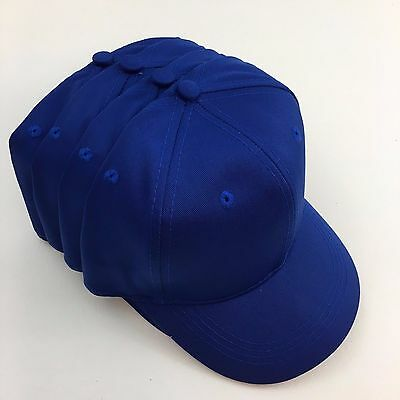 4 Youth Cotton Twill Pro Style Caps Hats Blanks Otto 66-212 Kids