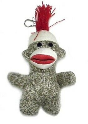 Pocket SOCK MONKEY KEY CHAIN Classic Brown RM3104