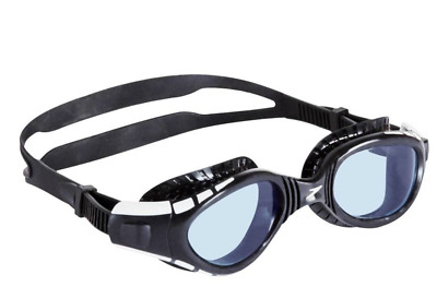 Speedo Men/women Futura Biofuse Antifog Black/smoke Swimming Goggles One Size