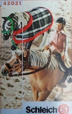 Schleich horse tack and girl rider 42021 - NEW in opened box