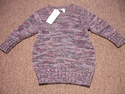 Old Navy baby girl heathered sweater dress 12-18 months NWT so cute!