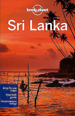 Sri Lanka Lonely Planet Travel Guide New