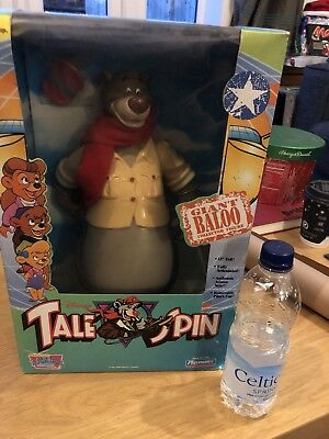 Giant Baloo Collector Figure. Play Mates. 1991 Walt Disney Vintage Toy. NEW