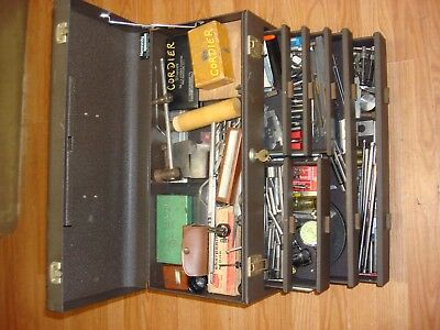Kennedy 520 7 Drawer Machinist Box Full Of Machinist Tools