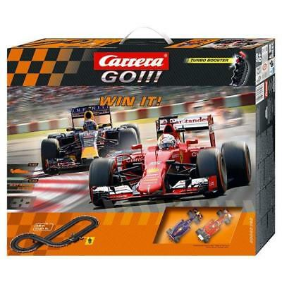 Carrera GO!!! Win It! F-1 Slot Car Set