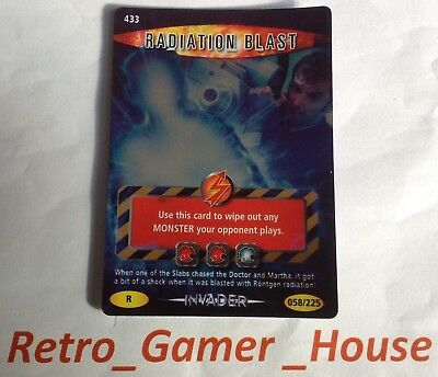 Doctor Who Battles in Time Radiation Blast Card