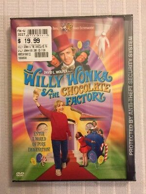 Willy Wonka & The Chocolate Factory Gene Wilder Dvd Sealed Brand New Features