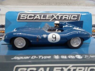 "Slot Car 1:32 Jaguar ""D"" Type Nurburgring 1000km 1957 C3730"