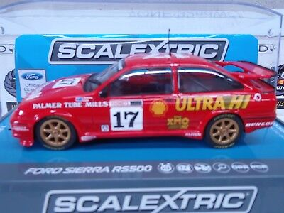 Slot Car Scalextric Ford Sierra RS500 Dick Johnson John Bowe