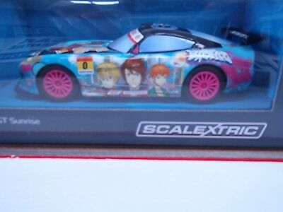 Slot Car Scalextric GT Lightning Team GT Sunrise Anime