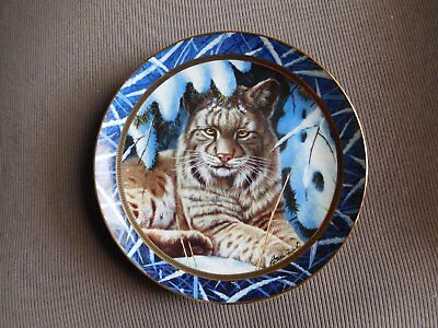 "Franklin Mint Collector Plate  ""winter Nest"" By Rob Macintosh"
